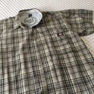 Men's dickies button up xl